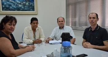Reunião com promotor Jornal