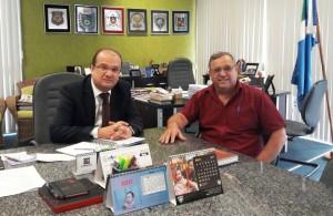 Prefeito Ricardo em audiência com o Secretário de Estado da Segurança Pública, José Carlos Barbosa