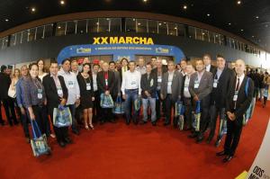 A Marcha reúne prefeitos de todo país em um ato em defesa dos municípios.
