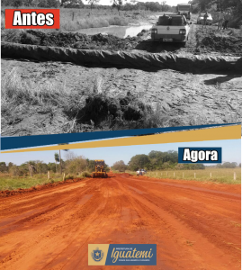 ANTES E DEPOIS AUXILIADORA