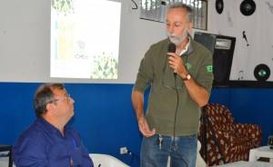 Chefe da APA do Parque Nacional Ilha Grande Romano Pulzatto Neto