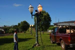 Iluminação site