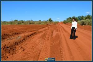 Prefeita Patricia Acompanha obras no Assentamento Auxiliadora