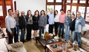 Rose participou de reunião com a executiva do PSDB