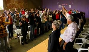 Uma grande reunião do Programa Vale Renda mobilizou as famílias de Iguatemi