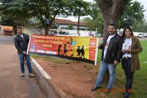 Campanha de conscientização e combate ao trabalho infantil aberta em Itaquiraí (2)