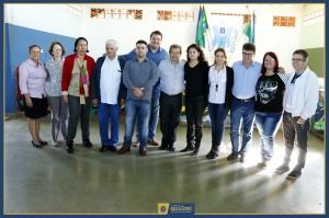 Deputado Onevan visitou a Prefeitura e a Escola 8 de Maio