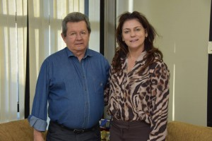 Prefeita Patricia foi recebida pelo Deputado Estadual Onevan de Matos