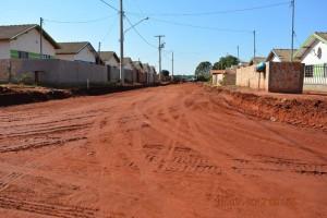 Pavimentação de ruas do Nova Era e Nova Esperança, em Itaquiraí. Obras entram em fase final (1)