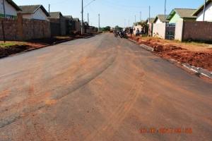 Pavimentação de ruas do Nova Era e Nova Esperança, em Itaquiraí. Obras entram em fase final (7)