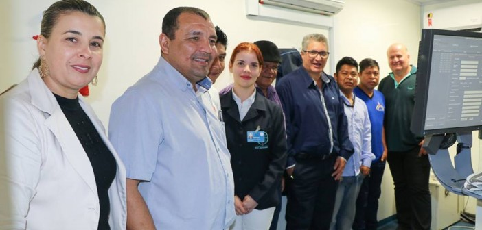 Japorã- Prefeito Bispo acompanhou atendimentos da Carreta do Hospital do Câncer na aldeia Porto Lindo