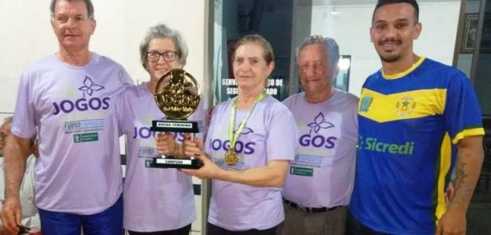 Iguatemienses conquistam título estadual na Bocha Feminina