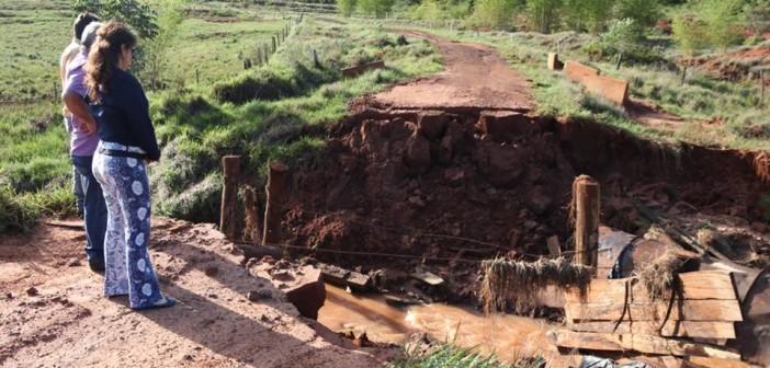 """Iguatemi- Prefeita Patrícia decretou """"Situação de Emergência"""" após estragos causados pelas chuvas"""