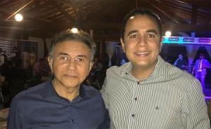Odilon pai candidato ao governo e Odilon Jr. novo coordenador da campanha do pai.