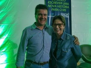 Márcio Margatto e futura Ministra da Agricultura Tereza Cristina.