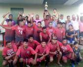 Prefeito Bispo prestigiou a final do Campeonato Municipal de Futebol de Japorã