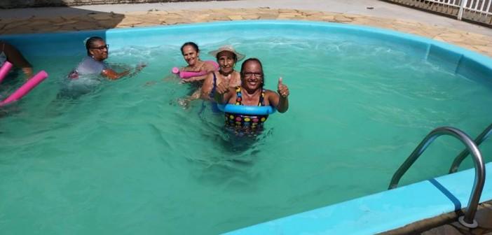Iguatemi- Secretaria de Assistência Social promoveu confraternização com Grupo da Melhor Idade