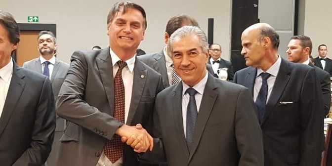 """Fechar a fronteira é difícil, mas temos que blindar"", pede Azambuja a Bolsonaro"