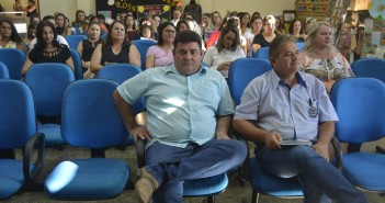 Na foto o Presidente da Câmara, vereador Edilson, juntamente com o Assessor de gabinete, Professor Eurico Ribeiro. Foto Evaldo Sérgio