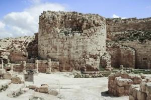 Ruínas de Herodium, a fortaleza de Herodes, o grande, perto de Jerusalém, em Israel (IStock/Getty Images)