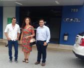 Juti- Prefeita Laka visita Hospital CEONC em Cascavel