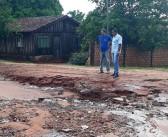 Eldorado- Prefeito Léo quer levar asfalto para ruas que sofrem sem pavimentação