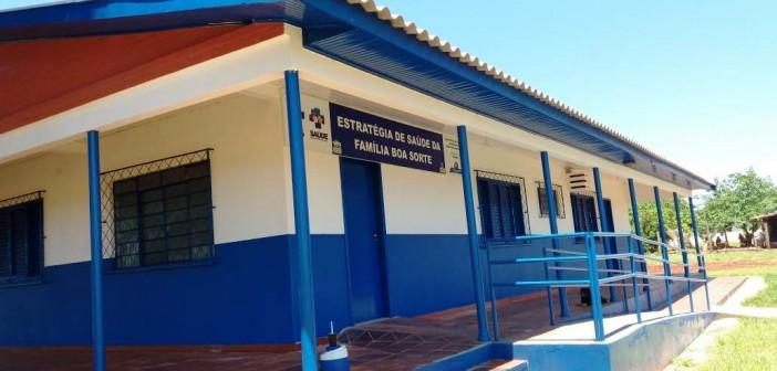 Prefeitura de Itaquiraí conclui reformas do  Posto de Saúde do Assentamento Boa Sorte