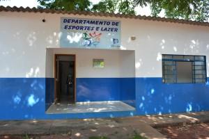 Sede do Departamento Municipal de Esportes de Itaquiraí