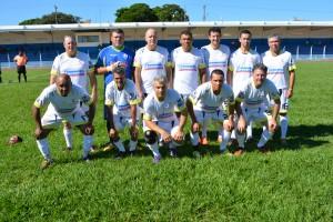 Equipe do Hospital São Francisco inicia com vitória no Campeonato Regional de Futebol Suíço Máster. Foto: Roney Minella