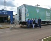 Caminhão do Hospital de Amor está realizando atendimentos em Juti