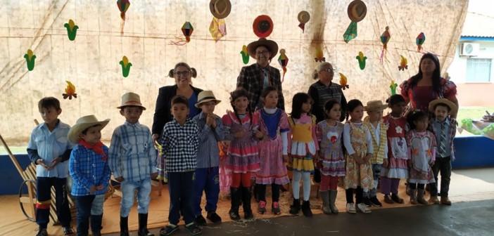 """Iguatemi- Assistência Social realizou Ação Social com Famílias do Programa """"Criança Feliz"""""""