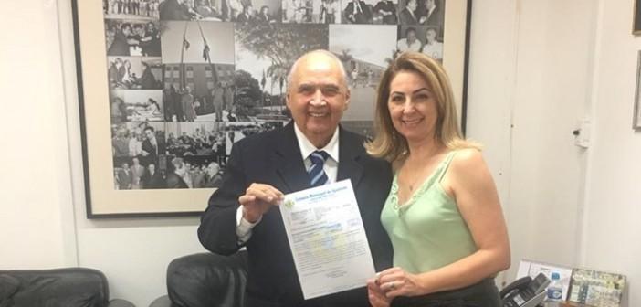 Iguatemi- Secretária de Saúde Ivoni visitou deputado Londres Machado e reforçou pedido do vereador Jesus Milane