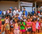 Japorã- Prefeito Bispo inaugurou nova Escola Municipal Indígena na Comunidade Yvy Katu