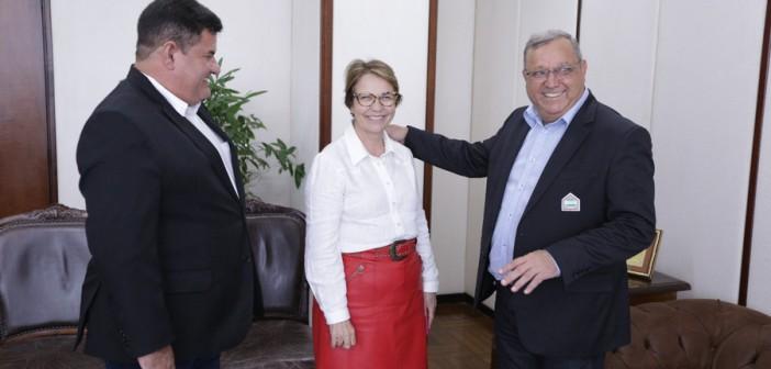 Itaquiraí- Prefeito Ricardo cumpre extensa Agenda  de Trabalho em Campo Grande e Brasília