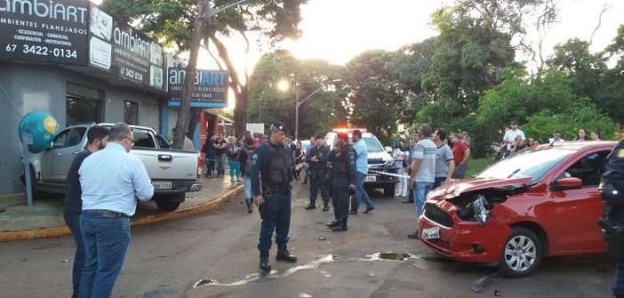 Atentado aconteceu em fevereiro desse ano - Crédito: Osvaldo Duarte/Dourados News/Arquivo