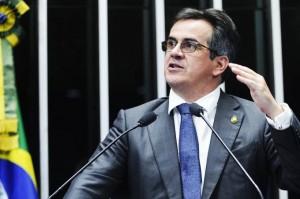 O senador Ciro Nogueira (PP-PI), discursa no plenário do Senado Federal - 29/04/2015  Moreira Mariz/Agência Senado
