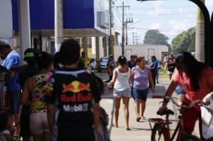 População nas ruas em MS atestam isolamento social em baixa. (Foto: Leonardo de França/Arquivo)