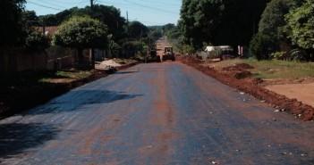 Mais uma quadra da Avenida Rio Branco está sendo preparada (Foto: Carina Yano/Semcos)