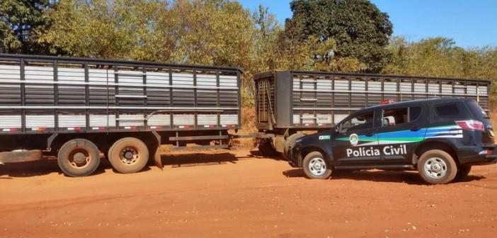 Delegacias cumprem mandados contra quadrilha especializada em furto de gado em MS