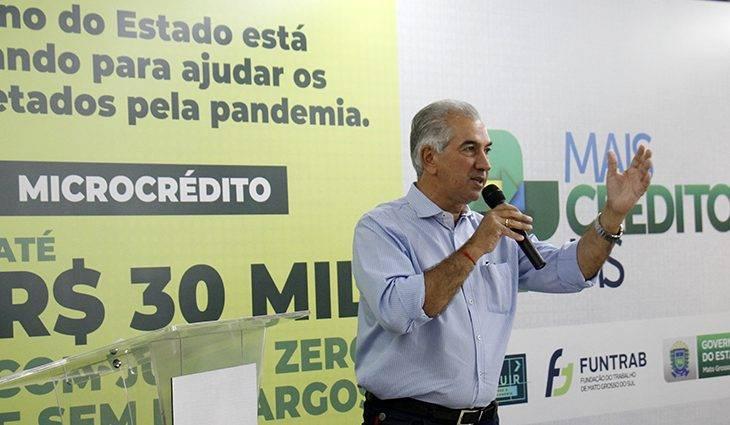 Reinaldo Azambuja abre mão do ICMS da conta de luz enquanto durar a bandeira de escassez hídrica